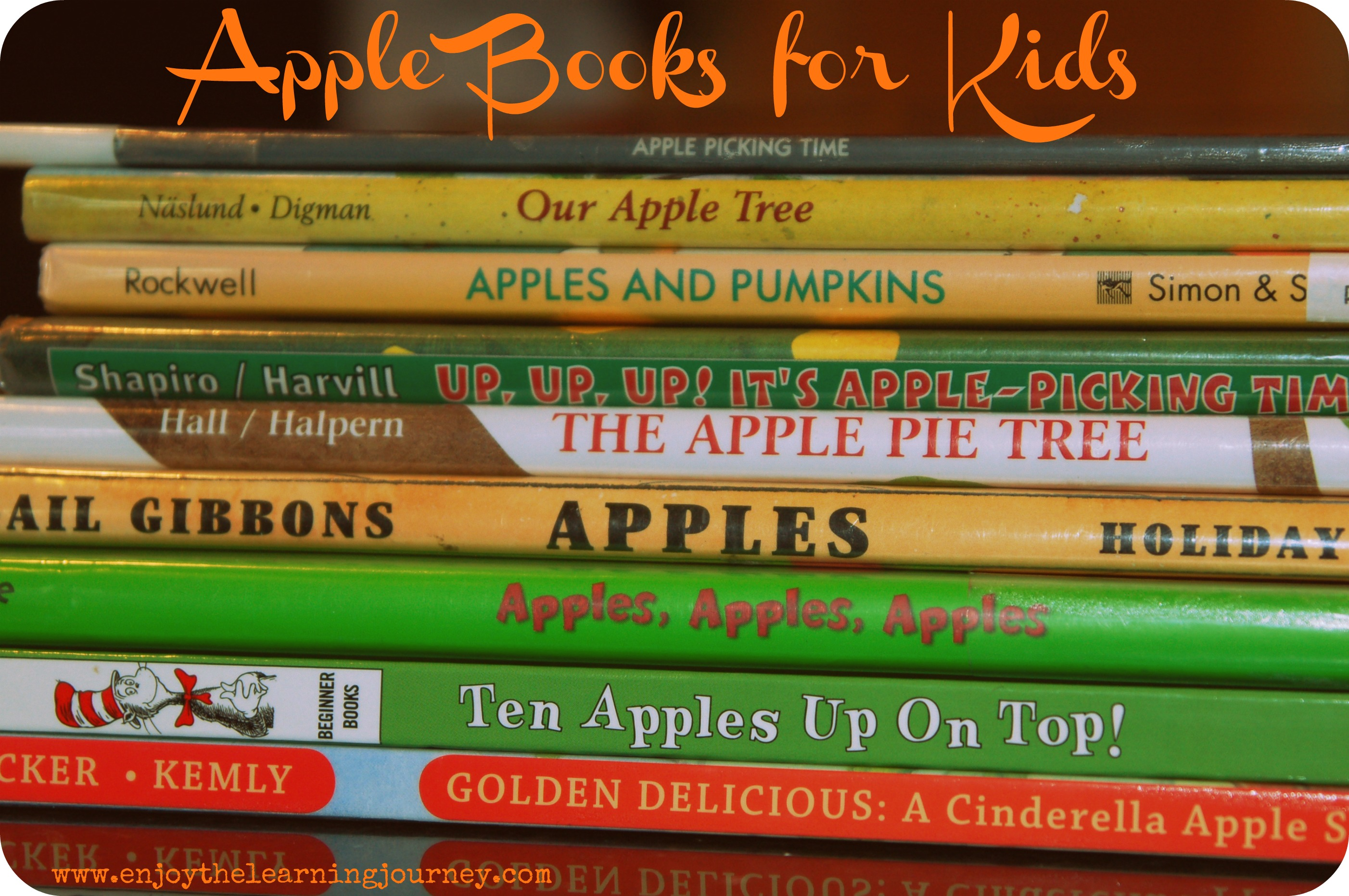 10 Apple Themed Books for Kids