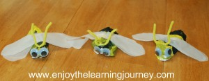 Plaster of Paris Buzzing Bee