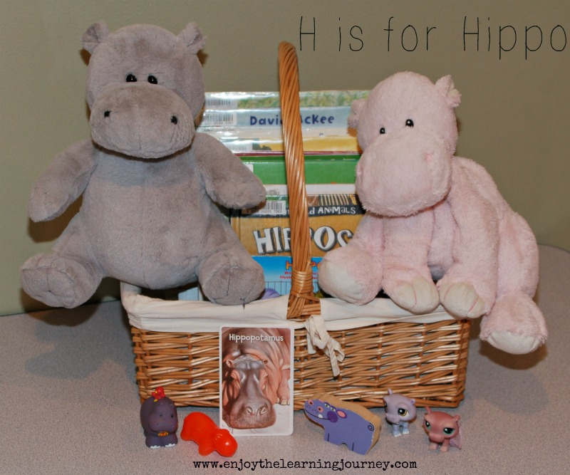 H is for Hippo – Letter of the Week for Preschoolers