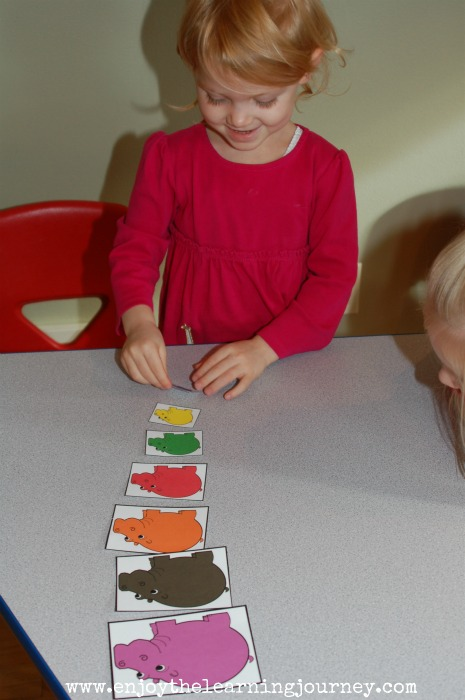 H is for Hippo Letter of the Week for Preschoolers