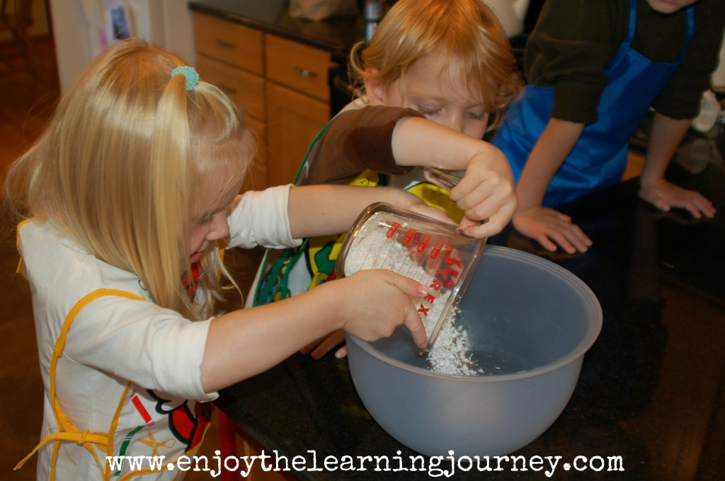 A soap-based finger paint recipe that's a great sensory experience for kids while they create their own work of art.