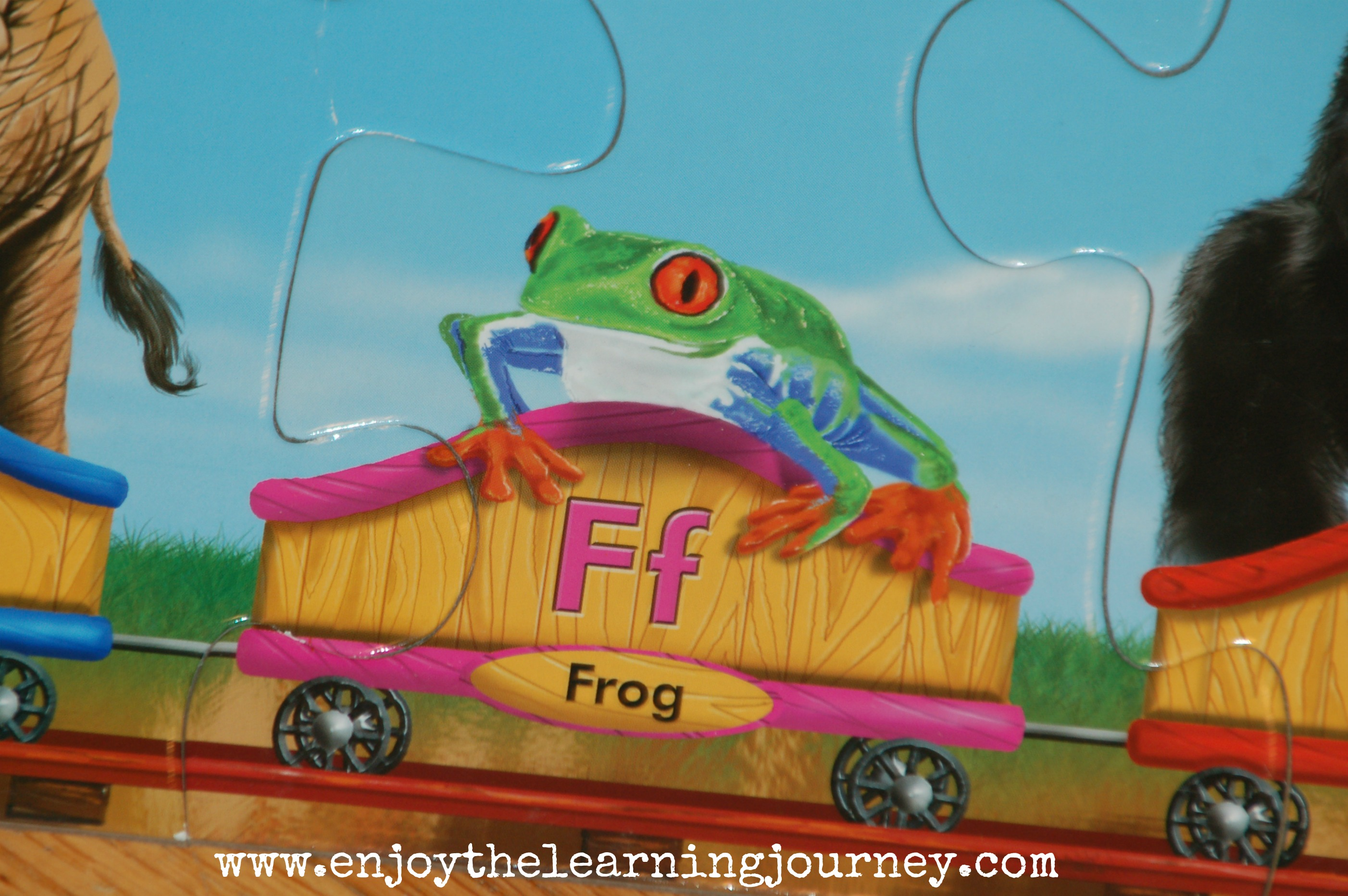 f is for frog letter of the week for preschoolers