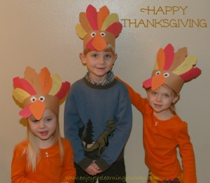 Happy Thanksgiving from Our Little Turkeys to Yours