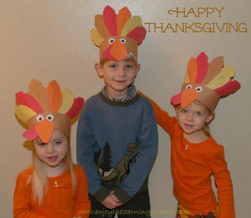 Happy Thanksgiving from our little turkeys to yours!
