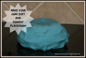 Make Your Own Soft and Squishy Playdough