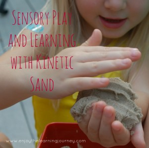 Sensory Play and Learning with Kinetic Sand