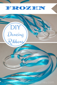 Make Your Own FROZEN Dancing Ribbons