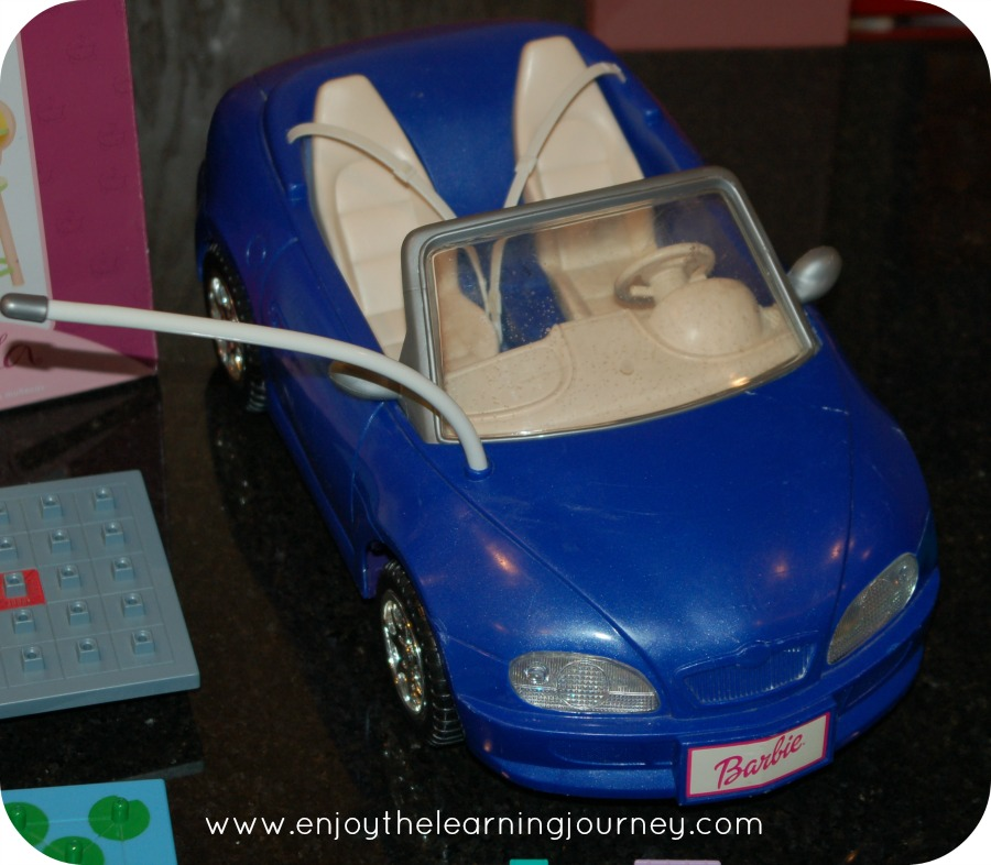 thrifty barbie car