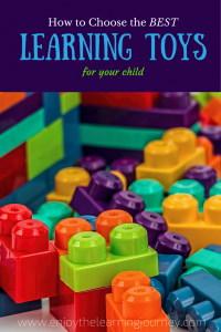 How to Choose the Best Learning Toys for Your Child