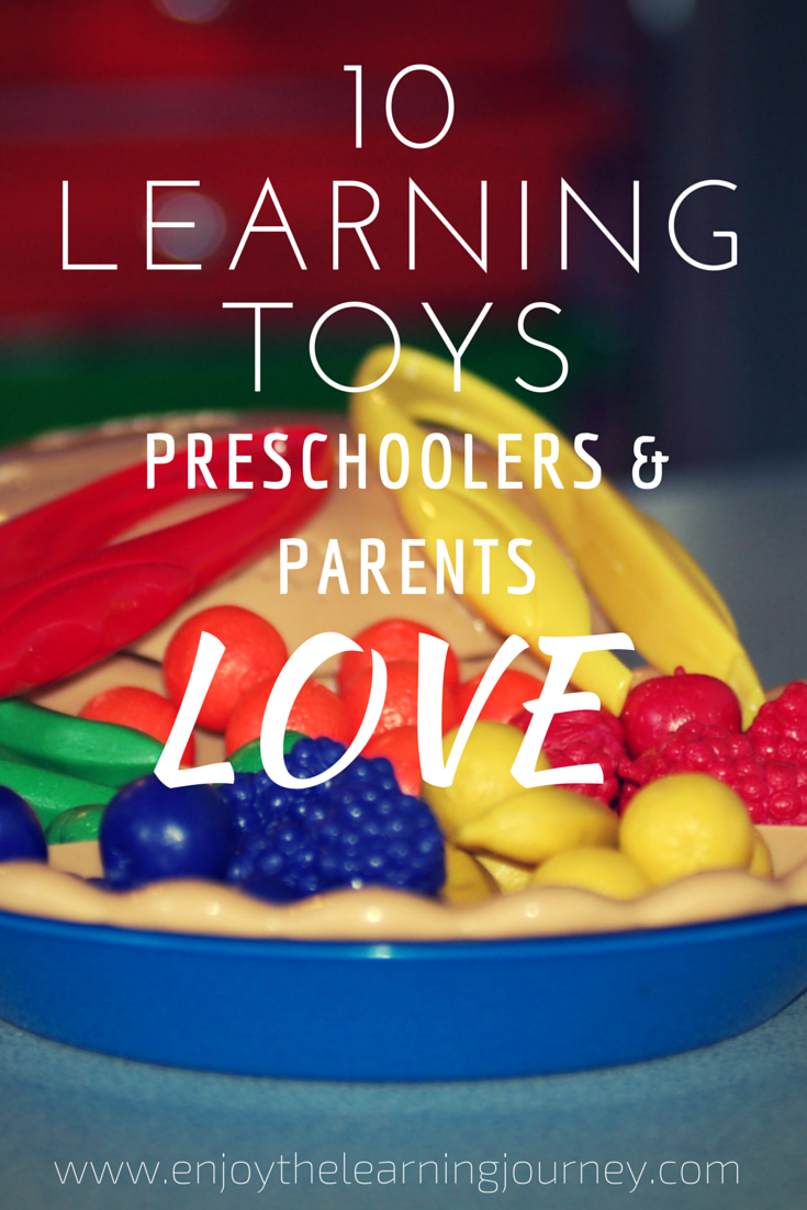 A quality learning toy can be used for years and in different capacities as a child grows. Here are 10 of the best learning toys for preschoolers!