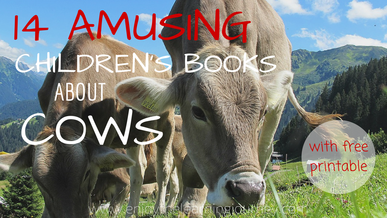 Childrens Books About Cows Social on homeschool free printable curriculum