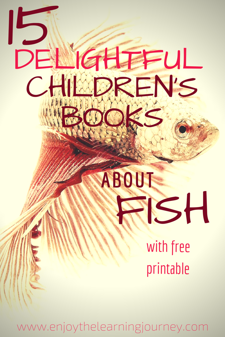 15 Delightful Children's Books About Fish with a FREE Addition Mat printable that is a great learning supplement for preschoolers and kindergartners!