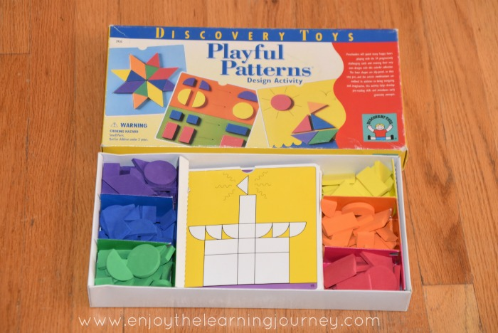 Discovery Toys Patterns