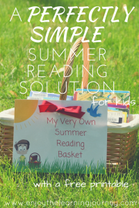 A Perfectly Simple Summer Reading Solution for Kids