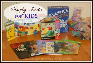 Thrifty Finds for Kids – Sequence States & Capitals, Discovery Toys, Books, Mini Beanie Babies