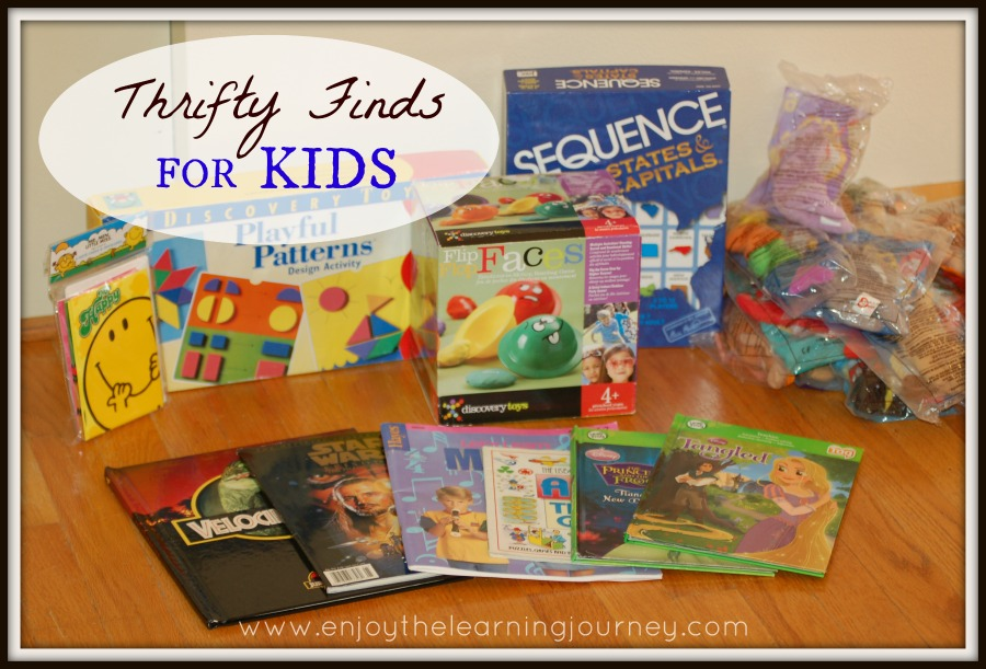 Thrifty Finds for Kids