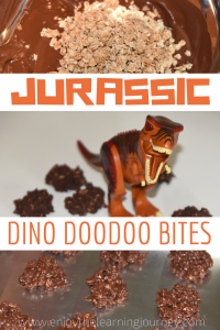 Recipe for Jurassic World Dino Doodoo Bites