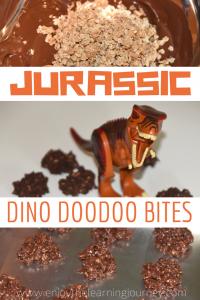 Recipe for Jurassic World Dino Doodoo Bites