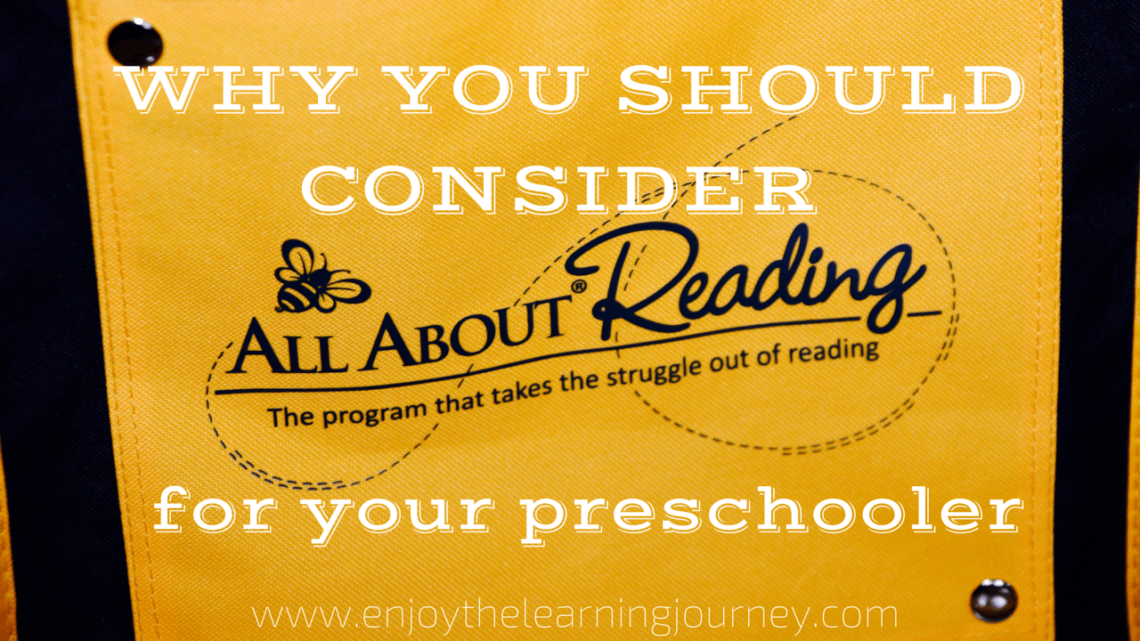 All About Reading Pre-reading Review
