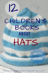 Children's Books About Hats with a FREE Printable