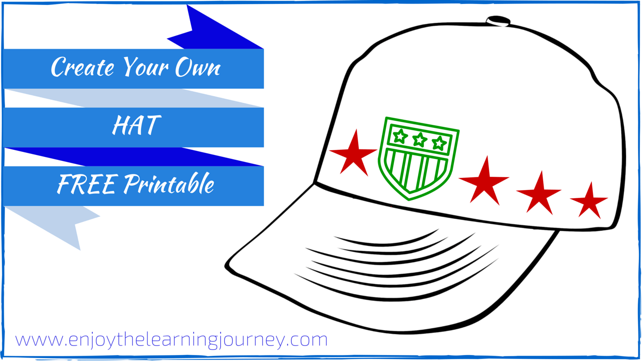 Create Your Own Hat FREE Printable-Boy