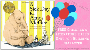 A Sick Day for Amos McGee Unit - Social