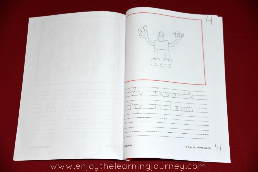 Your children can create their own customized All About Me book with this FREE printable!