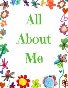 Your children can create an All About Me book with this flexible template. FREE Printable with an adorable cover!