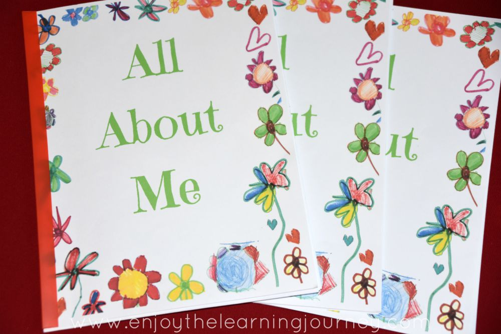 All About Me Book with FREE Printable - Heart and Gratitude