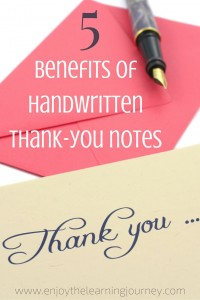 Benefits of Thank you Notes - Pinterest