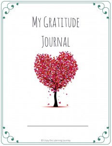 Reflect on all of your blessings and change your outlook as you use this FREE printable 31-day gratitude journal.