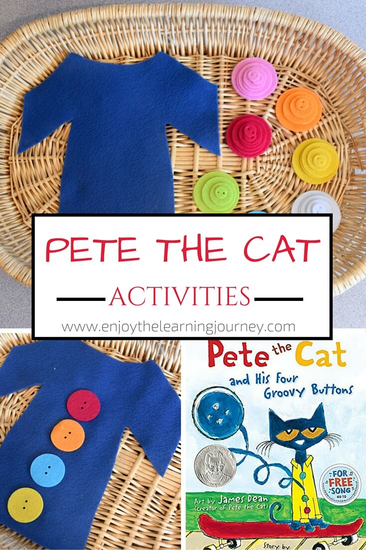 Pete the Cat and His Four Groovy Buttons ~ Supplementary Learning ~ Pete the Cat Activities