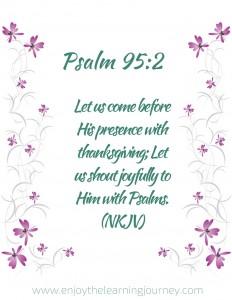 Psalm 95_2