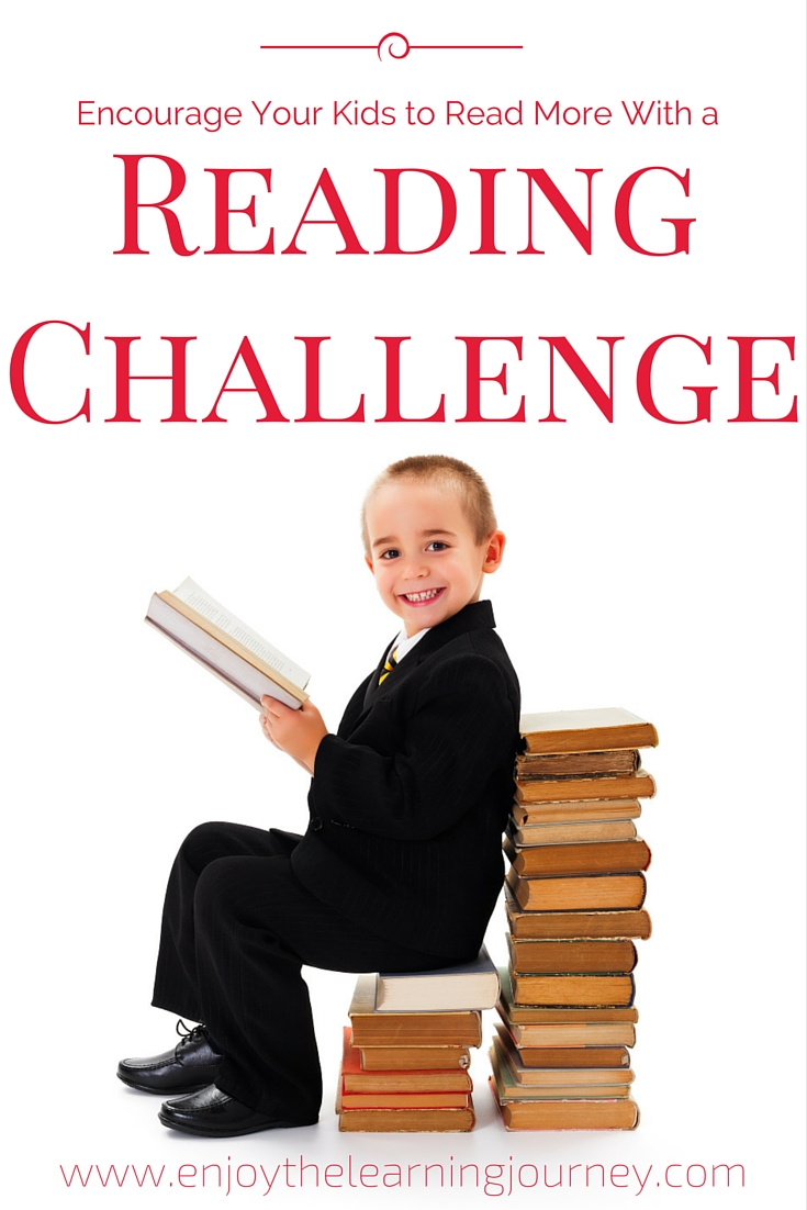 Reading Challenge for Kids ~ 30-Day Printable Reading Log