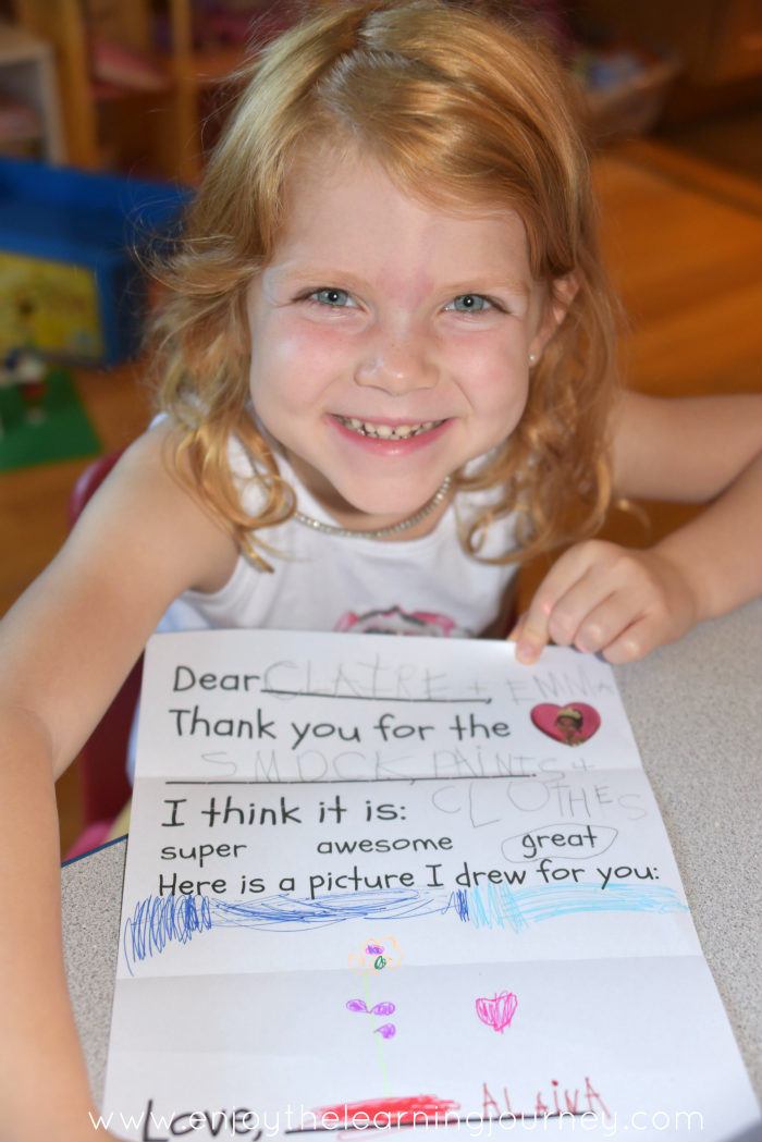 5 reasons to teach your kids how to write thank you notes heart