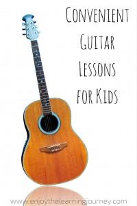 Convenient Guitar Lessons for Kids