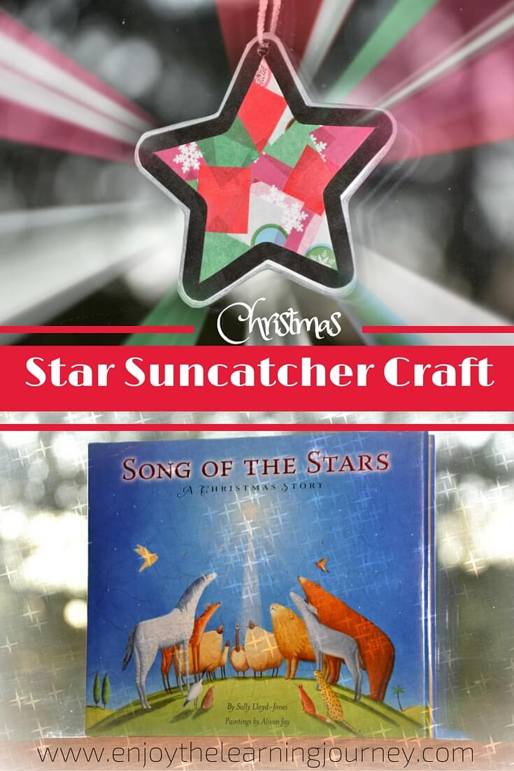 Song of the Stars ~ Christmas Star Suncatcher Craft