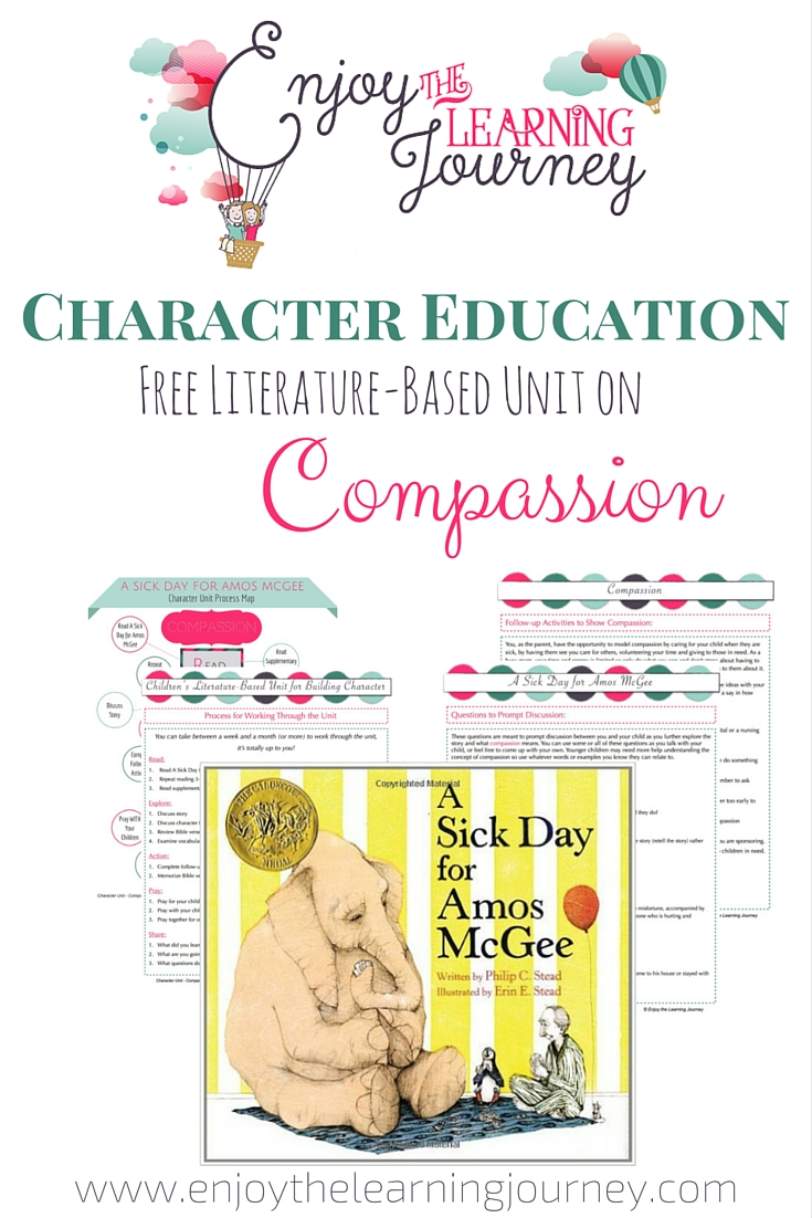 Character Education ~ Free Literature-Based Unit on Compassion
