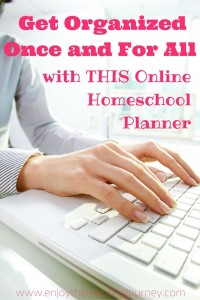 Get Organized Once and For All with THIS Online Homeschool Planner