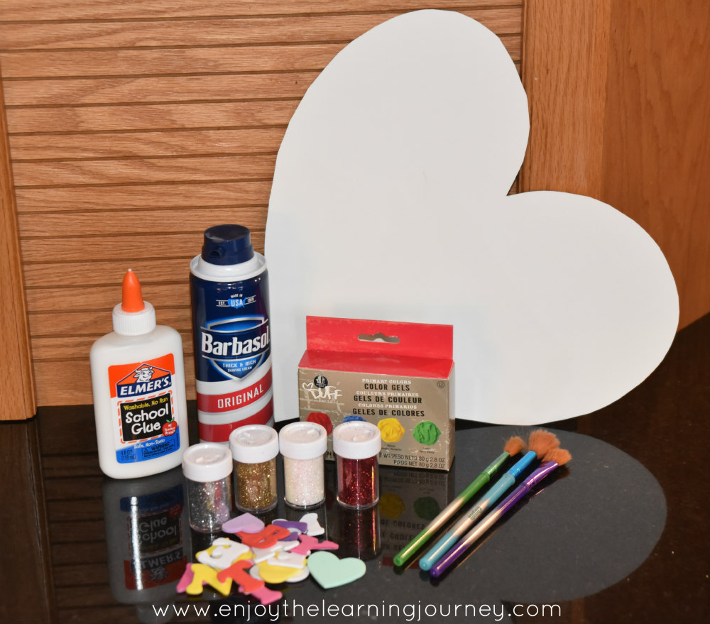 This simple Puffy Paint Heart Craft is perfect for Valentine's Day or any day your child wants to express their love for someone special.