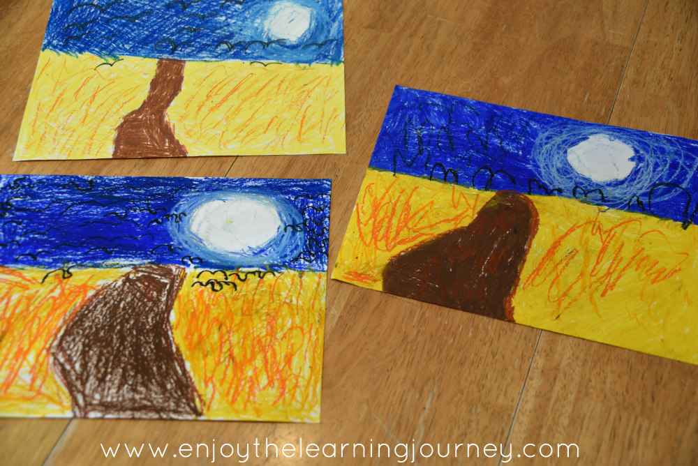 Add a Vincent Van Gogh unit study to your homeschool for your K-2 children and introduce them to this talented artist and some of his works and techniques.