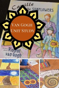 Vincent Van Gogh Unit Study for K-2