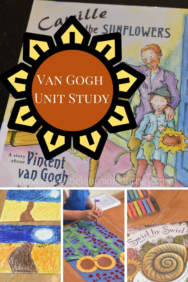 Vincent Van Gogh Unit Study for K-2
