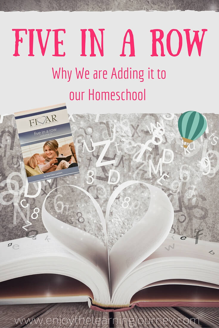 Do you have an interest in literature-based learning in your home? Find out why we decided to add Five in a Row to our homeschool.
