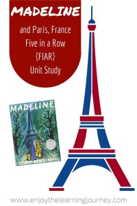 Madeline Five in a Row Unit Study ~ Paris, France