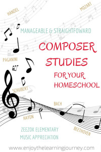 Music Appreciation ~ Composer Studies for Your Homeschool