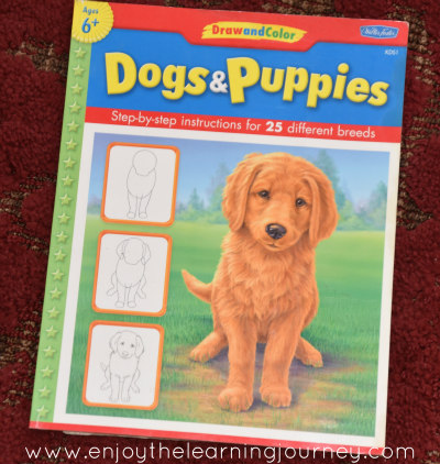 Dogs & Puppies Drawing Book