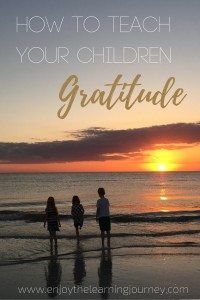 How to Teach Your Children Gratitude