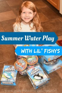 Summer Water Play with Lil' Fishys Toys