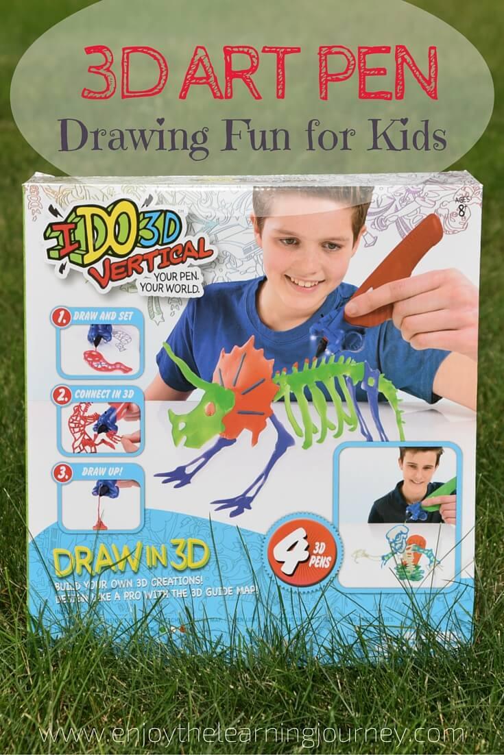 3D Art Pen ~ Drawing Fun for Kids